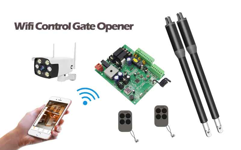 How to Operate a Swing Gate Opener Control
